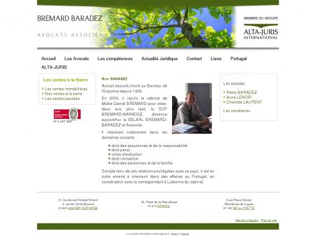 Rémy BARADEZ Avocat au Barreau de...