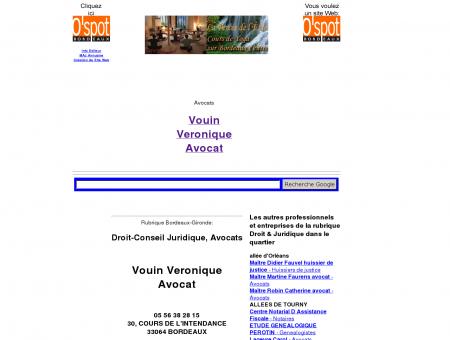 Maître Véronique Vouin avocat Arpèges...