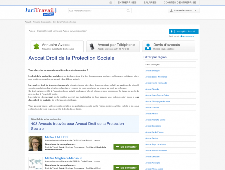 Avocat Droit de la Protection Sociale -...