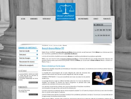 Avocat divorce Melun  Seine-et-Marne :...