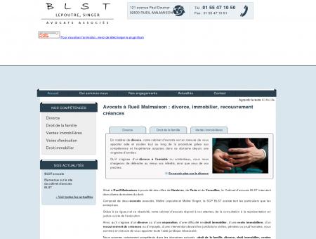 Avocat Rueil-Malmaison 92 - Avocats divorce,...
