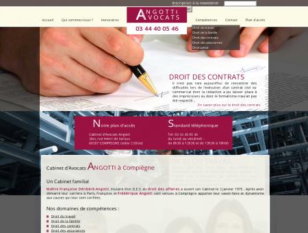 Avocat Compiègne, Angotti avocats (Oise, 60)...