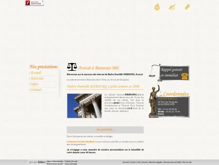 Avocat, avocat assises  Beauvais | Risbourg...