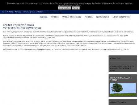 Avocats - Cabinet Roig à Senlis (60)