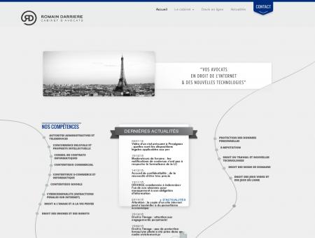 Avocat droit de l'internet & NTIC - Romain...