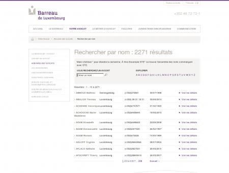 Rechercher par nom / Annuaire des avocats /...
