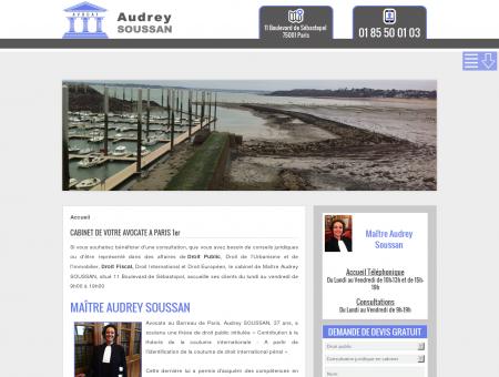 Audrey Soussan Paris 1 | Droit public | Droit fiscal