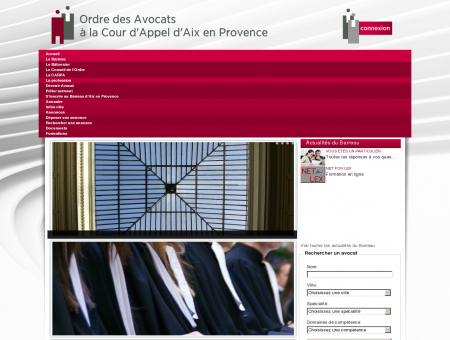Ordre des Avocats à la Cour d'Appel d'Aix en...