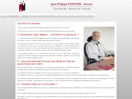 Le coût d'un avocat - Jean-Philippe MONTEIS...