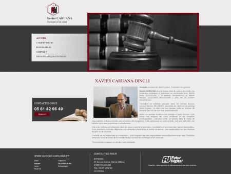 Xavier Caruana-Dingli : Cabinet d'avocat...