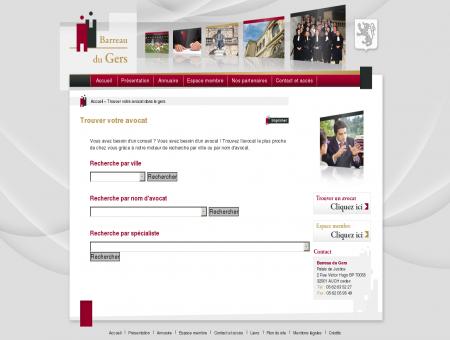 Trouver votre avocat - Site Officiel de l'Ordre...
