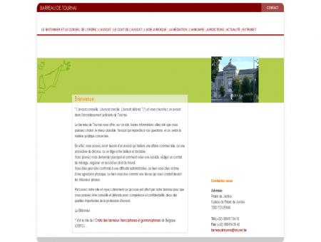 Barreau de Tournai