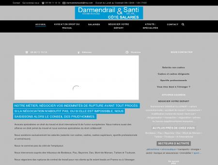 Darmendrail et Santi Avocat droit du travail...