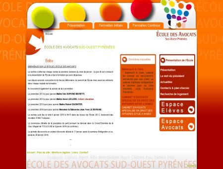Accueil - Ecole des avocats de TOULOUSE