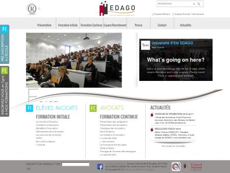 Edago, école des avocats du grand ouest