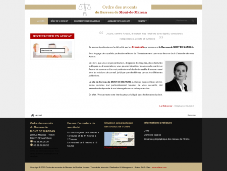 Mont de Marsan : Ordre des avocats du...