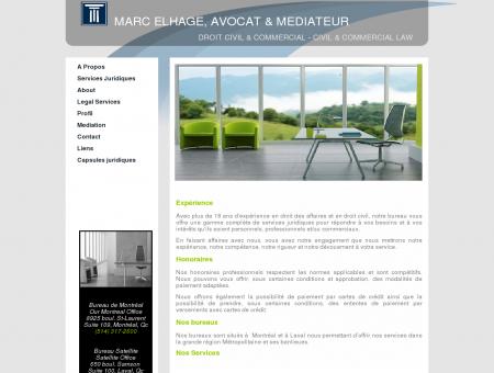 Marc Elhage, Avocat Droit des affaires...