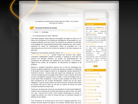 Des droits et devoirs de l'avocat - WebAvocat