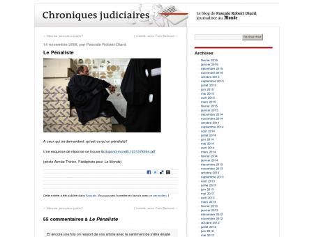 Le Pénaliste - Chroniques judiciaires | par...