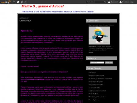 Le blog de Maître S., graine d'Avocat - CRFPA,...