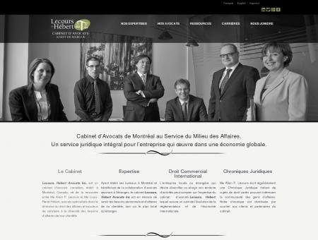 Cabinet d'avocat | Montréal, Canada | Droit des...