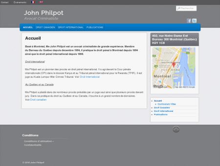 John Philpot | Avocat Criminaliste