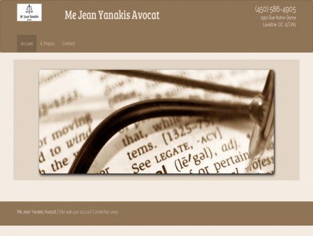 Me Jean Yanakis Avocat | Accueil