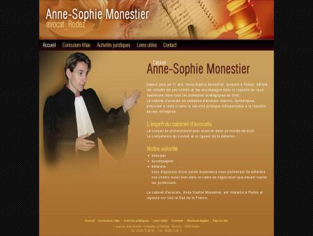 Anne Sophie Monestier - Avocate - Rodez