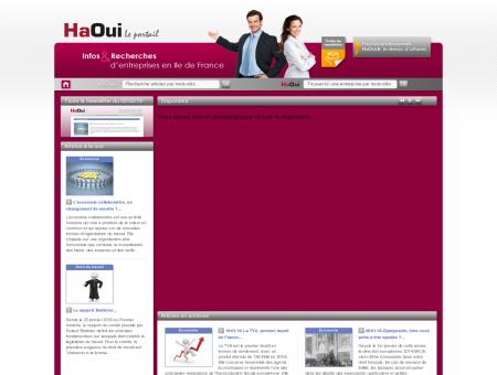 Bienvenue sur le portail HaOui
