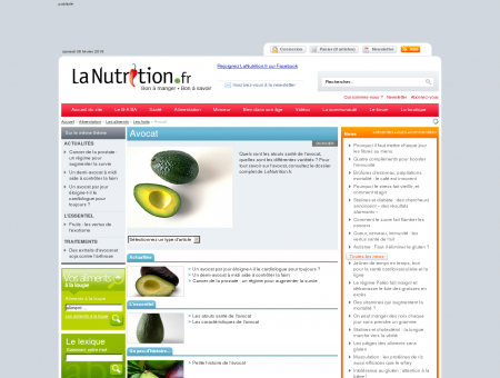 Avocat - Avocat - LaNutrition.fr - Guide...