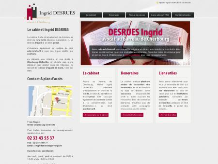 AVOCAT - Ingrid Desrues - CHERBOURG  ...