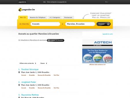 Avocats Bruxelles Marolles | pagesdor.be
