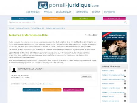 Notaire à Marolles-en-Brie (94)