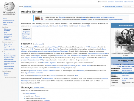 Antoine Sénard  Wikipédia