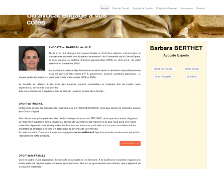 Barbara Berthet - Avocat au Barreau de Lille...