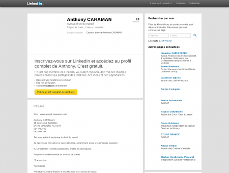Anthony CARAMAN | LinkedIn