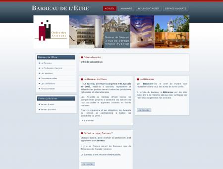 Accueil - Ordre des avocats - Barreau Evreux