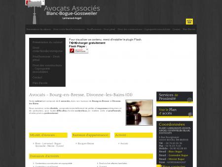 Avocat Ain - BLANC-LARMARAUD-BOGUE...