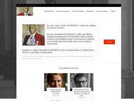 Avocats, Alexandra Dumitresco et Pierre Degoul