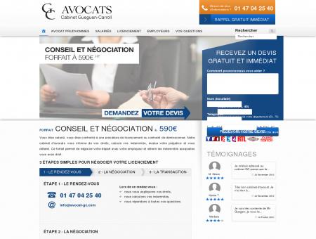 Avocat Licenciement  Droit du Travail ...