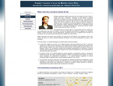 Avocat Jacqueline Leduc-Novi à Lille - Cabinet...