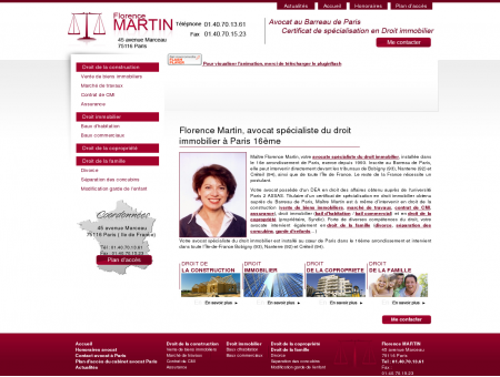 Avocat Paris 16, avocat droit immobilier Paris,...