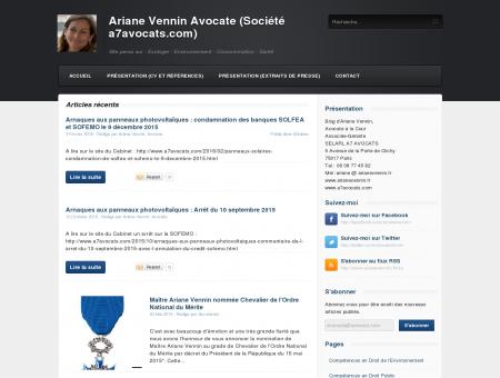 Ariane Vennin Avocate (Société a7avocats.com)...