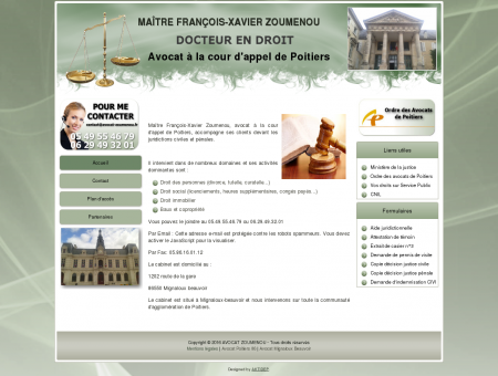 Maître François-Xavier Zoumenou
