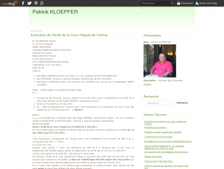 Patrick KLOEPFER - Victimes Agir Ensemble