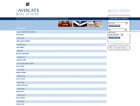Les avocats du Val d'Oise - avocat 95