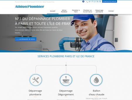 Dépannage plombier à Paris et en île-de-France