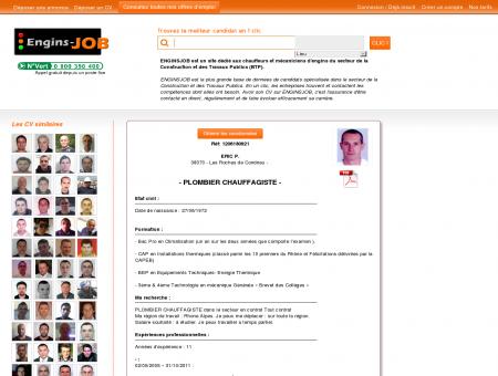CV PLOMBIER CHAUFFAGISTE, Eric P. - réf...