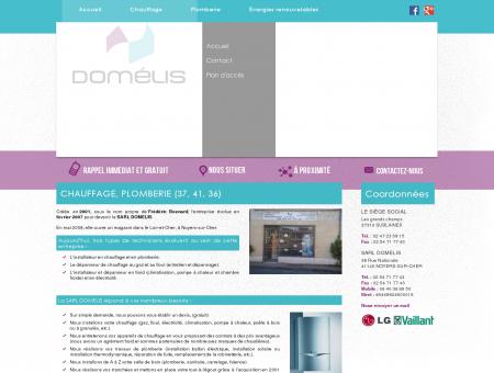 Chauffage 37 - SARL DOMELIS : plombier,...