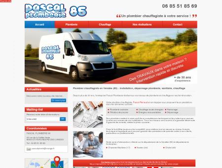Plombier chauffagiste en Vendée (85) :...